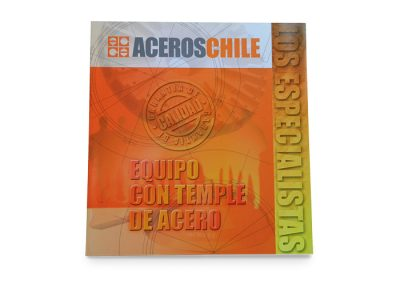 Folleto Aceros Chile