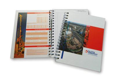Cuaderno Pilotes Terratest