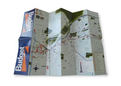 Mapa Budget