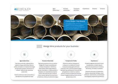 Sitio web Ciclo