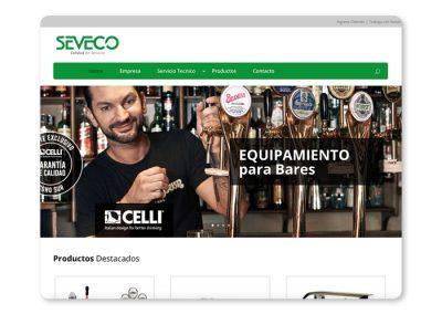 Sitio web Seveco