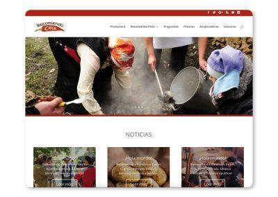 Sitio web Recomiendo Chile