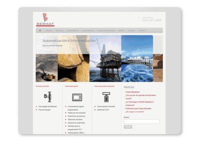 Sitio web Bermat
